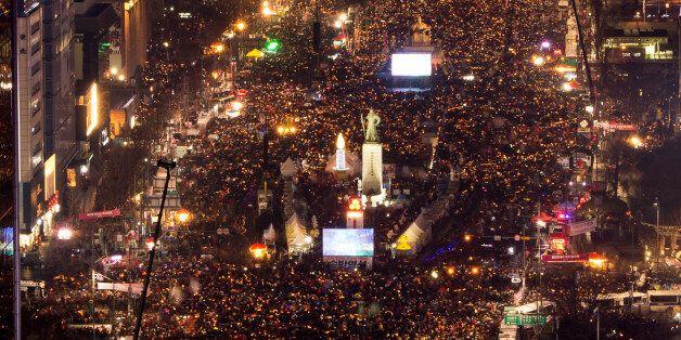 세월호 생존 학생들이 '1천일' 주말 집회에