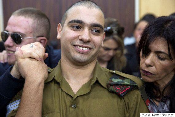 쓰러진 팔레스타인 사람을 총으로 쏜 이스라엘 군인 '살인죄