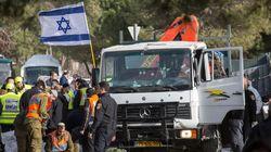 이스라엘 군인 겨냥 '트럭돌진' 공격으로 4명