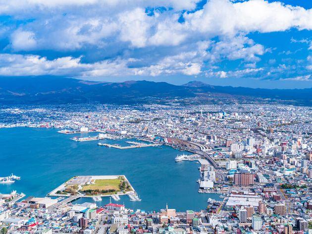 北海道・函館の街並み