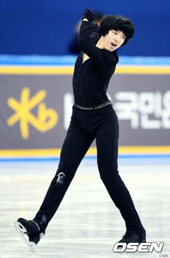 차준환, 男 피겨 최초 쇼트 80점