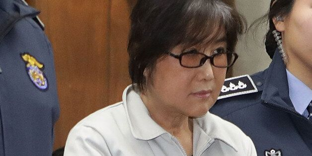 SEOUL, SOUTH KOREA - JANUARY 5: Choi Soon-sil, the jailed confidante of disgraced South Korean President...