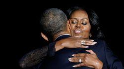 버락 오바마의 고별연설에 가족들도