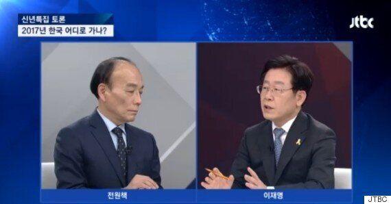전원책과 이재명의 '법인세 실효세율' 설전에 JTBC가 직접