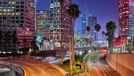 12K 타임랩스로 찍은 L.A.의 낮과