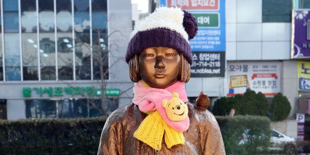 아베는 위안부 소녀상에 대해