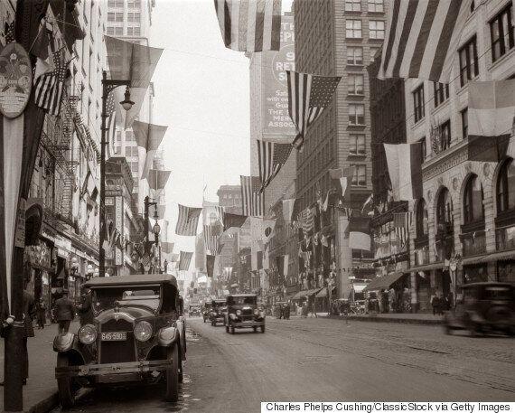 100년 전에 생겨나 미국을 상징하게 된