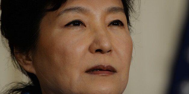 10/16/15- The White House- Washington DC President Barack Obama welcomes President Park Geun-hye of the...