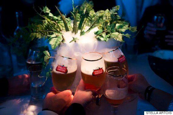 맥주와 함께한 밤 사랑에