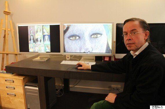 프랑스 감정회사 '뤼미에르 테크놀로지'는 천경자의 '미인도'가 위작이라고