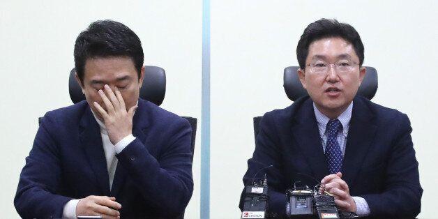 남경필·김용태 등 새누리당 탈당파가 '참회 토론회'를
