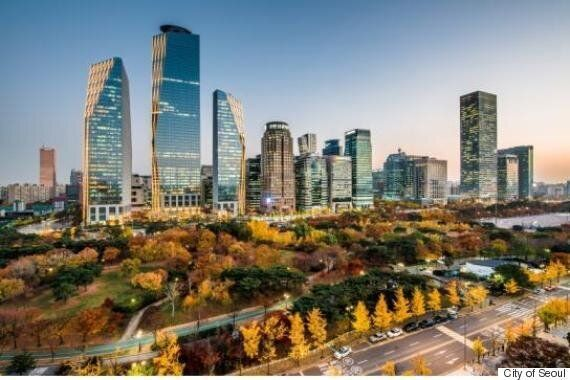 카메라로 포착한 서울 가을길 최고작은