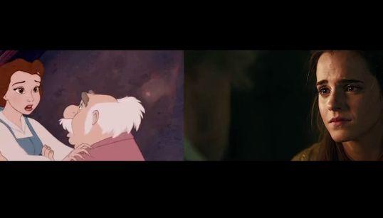 '미녀와 야수' 1991년 vs. 2017년 예고편을