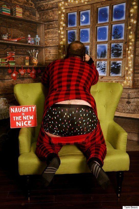 이 남자의 섹시화보는 크리스마스를 뜨겁게 만들