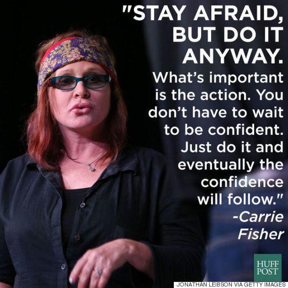 캐리 피셔는 정신건강의 중요성을