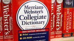 메리엄-웹스터가 고른 올해의 단어는