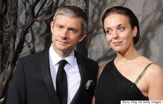 '셜록4'에는 부부로 나오지만, 마틴 프리먼과 아만다 애빙턴은 이미