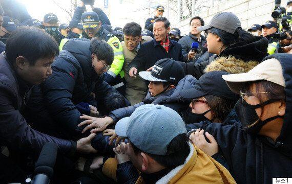 부산 소녀상 철거 후폭풍으로 구청에 비난전화가