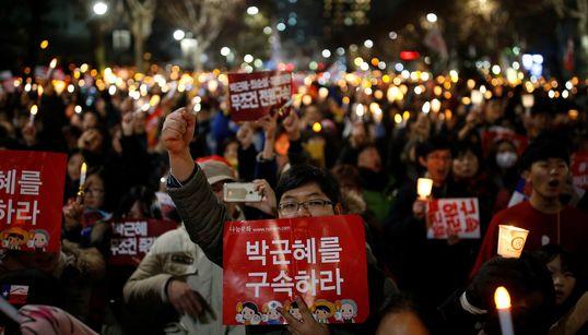 [화보] 시민들은 '박근혜 즉각퇴진'을
