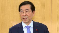 박원순 시장이 '대선 출마'를 공식