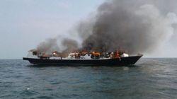 여객선 화재로 인도네시아서 최소 23명