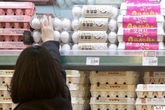 계란 한 판에 1만5000원까지