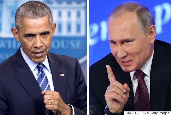 러시아가 미국의 외교관 추방 조치에 보복을