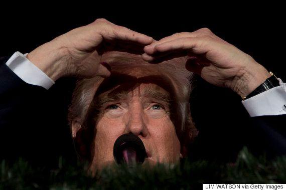 도널드 트럼프가 선거인단 과반 득표로 제45대 미국 대통령 당선을