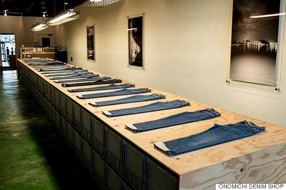 일본 어부가 1년간 입었던 중고 청바지가 높은 가격에 팔리고