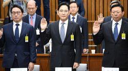 대기업 총수들의 '최순실 청문회' 오전 답변