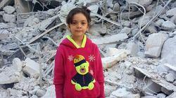 알레포 상황을 생중계하던 시리아 소녀의 계정이