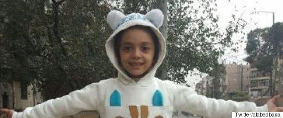 트위터로 알레포의 상황을 생중계하던 시리아 소녀의 계정이