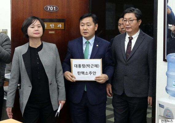 마침내, '박근혜 탄핵안'이