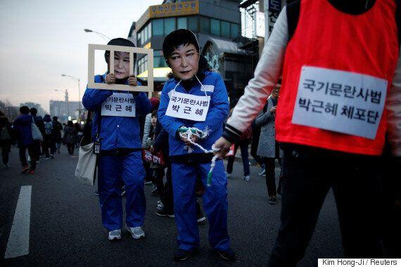 국민 76.8%는 박근혜 대통령의 즉각퇴진과 탄핵을 원하고