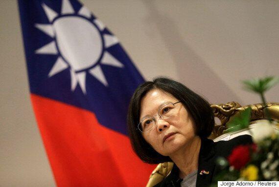 트럼프와 대만 총통의 전화통화에 중국 정부는 화가