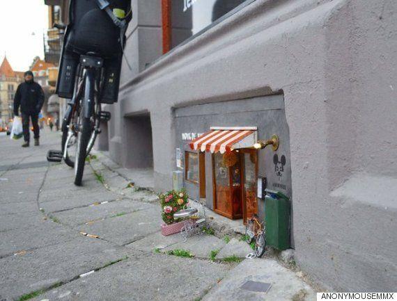 스웨덴에 생쥐를 위한 마법 같은 상점들이 생기고