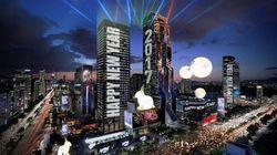 강남 코엑스가 한국의 타임스퀘어로