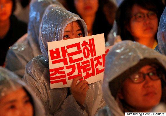 박근혜 대통령은 탄핵소추안 표결을 '담담히 지켜보겠다'고