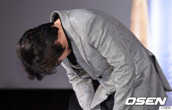 김윤석, 성희롱 논란 사과..