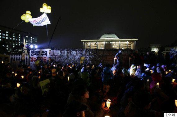 박근혜 탄핵 표결, 아직 찬반 결정 못한 새누리당 86명에