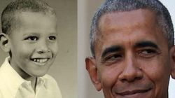 오바마 대통령의 생애를 몇 초 만에 볼 수