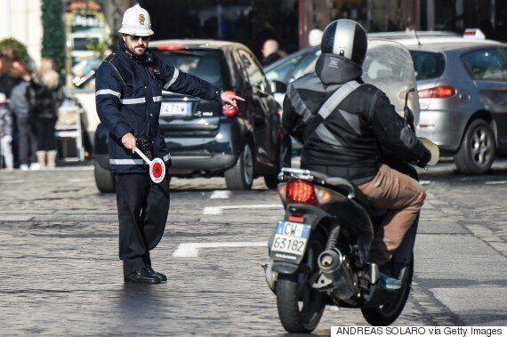 이탈리아 로마가 '교통 통제'에 나선