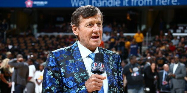CLEVELAND, OH - JUNE 16: Craig Sager attends the game between the Golden State Warriors and the Cleveland...