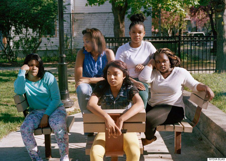 사진작가 나디아 블라스가 유색 인종 여성만 사진에 담는