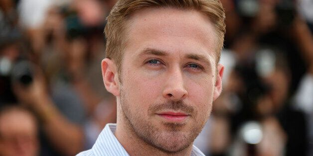 Director Ryan Gosling poses during a photocall for the