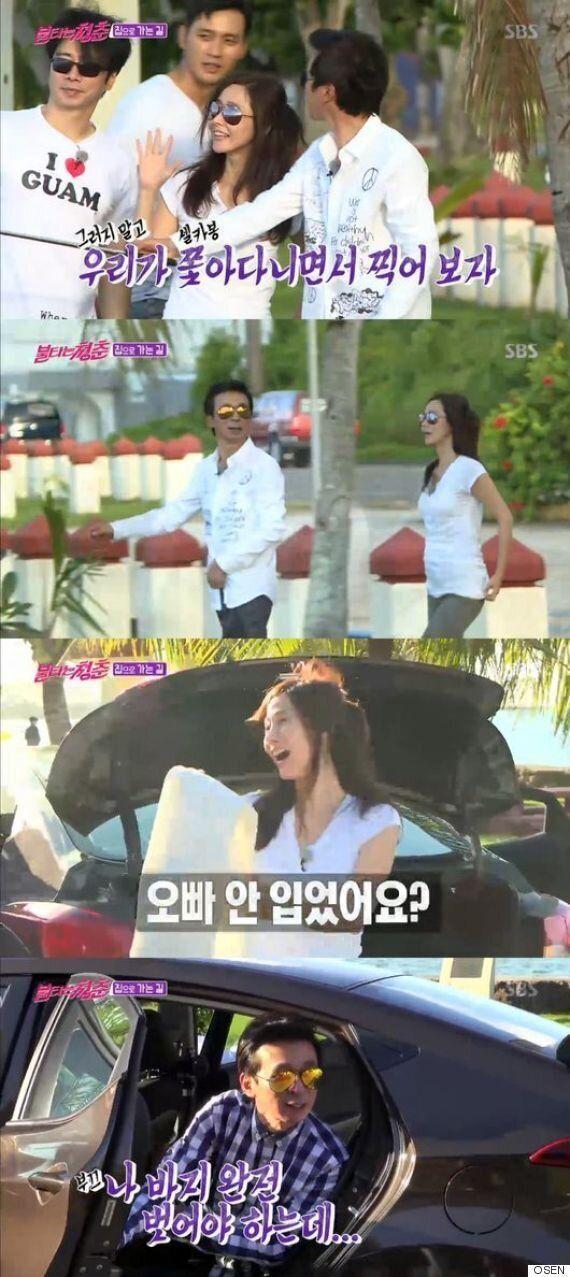 '불청' 김국진♥강수지, 허니문 안부럽다...꿀같은 괌여행