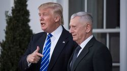 트럼프가 국방장관으로 매티스 장군을