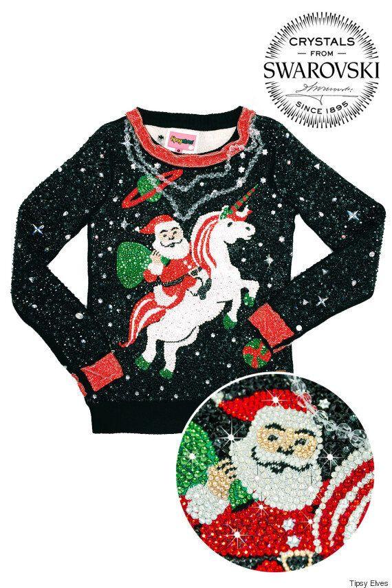 이 못생긴 크리스마스 스웨터는 어마무시하게
