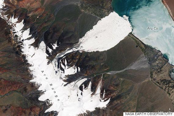 기후 변화가 '세계의 지붕'을 녹이고