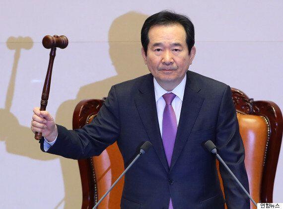 오늘 박근혜 대통령 탄핵소추안 의결의 자세한
